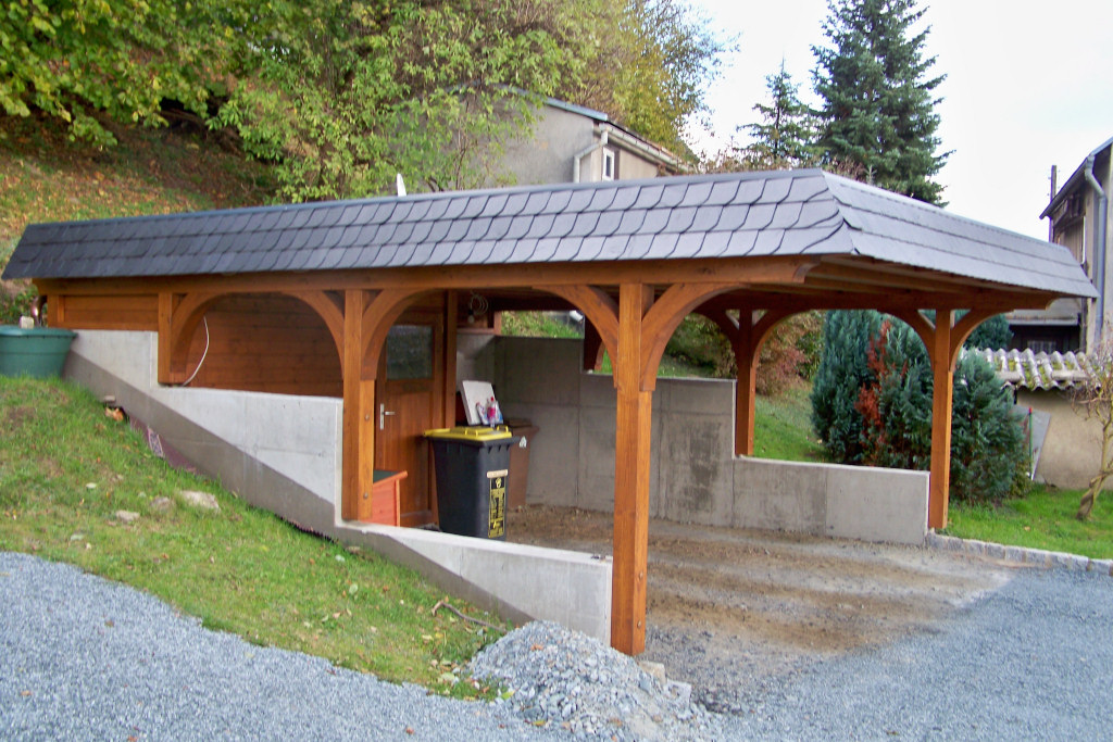 carport mit garagentor trendy referenzen carport referenzen carport with carport mit garagentor. Black Bedroom Furniture Sets. Home Design Ideas